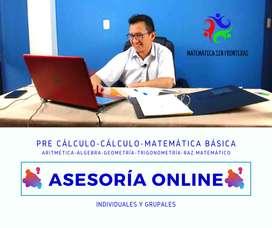 Clases Online de Matematica Nivelacion y Reforzamiento