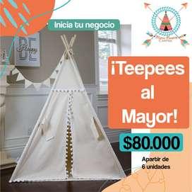 Teepees al Mayor, carpas Infantiles, Casitas de Juego