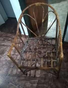 vendo dos sillones de caña