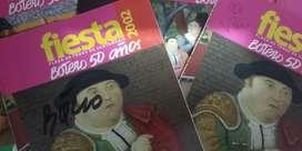 Autografo Maestro Botero
