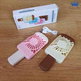 Ventilador Portable Mini Paleta Fan Usb Plastico Helado