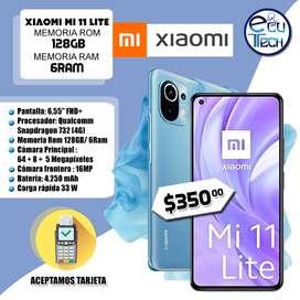 Xiaomi M11 Lite 128gb/6Ram en $350