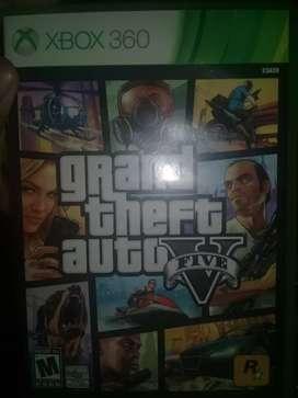 Gta V impecable y original para Xbox 360