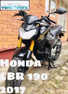 Moto Honda CBR190 como nueva