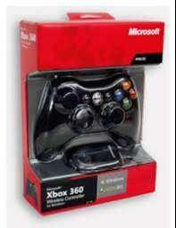 Control de xbox 360 negro y tipo PC, compatible 7, 8.1 y ahorra