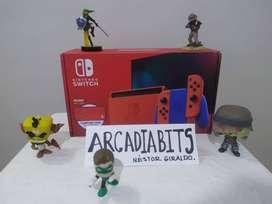 Consola Nintendo Switch Edición Mario Bros Red and blue Nueva y Sellada