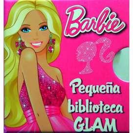 Pequeñas biblioteca barbie glam