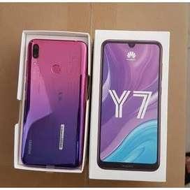 Huawei y7 2019 en caja nuevo