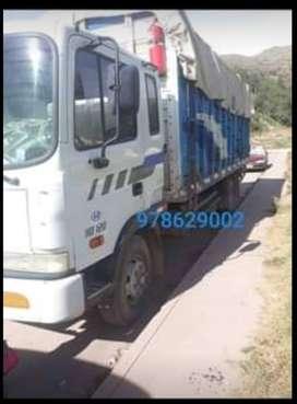 Camion hiunday hd120 turbo intercoler