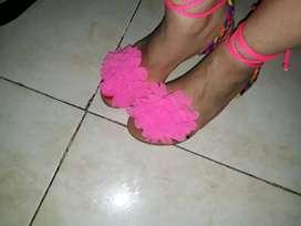 Sandalias carnavaleras