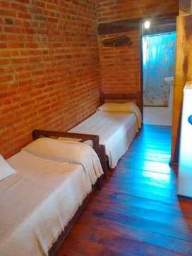 rz08 - Cabaña para 1 a 5 personas con pileta y cochera en Santa Rosa De Calamuchita