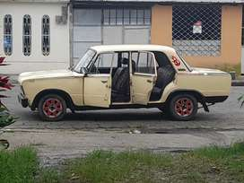 Carro Fiat modelo 125 en venta