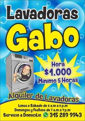 alquiler de lavadoras zona norte