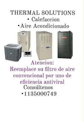 SERVICIO TÉCNICO CALEFACCIÓN CALDERAS Y AIRE ACONDICIONADO