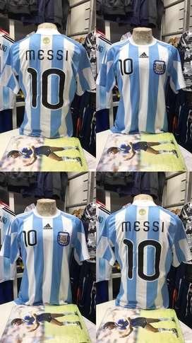 Remera seleccion argentina afa 2010 de epoca