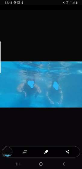 Samsung s9 plus original funciona impecable hasta bajo agua