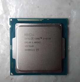 Procesador Intel Core I7-4770