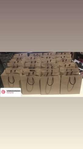 Bolsas en papel Kraft