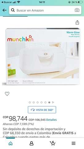 Calientador de toallitas  munckin