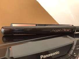 Plancha de cabello argan heath
