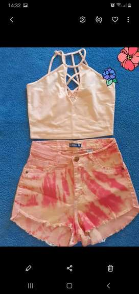 Vendo short + top