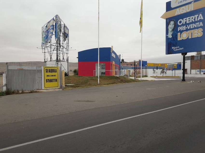 Alquilo local comercial de 2,500 m2 0