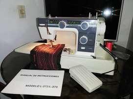 Maquina de coser JANOME L372 Automatica portatil en excelente estado