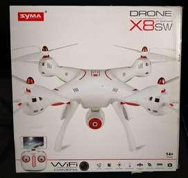 Drone Syma X8sw Wifi Fpv 2.4ghz Rc