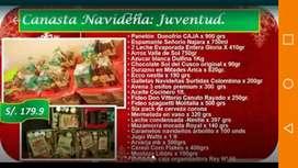 Canastas Navideñas 2019 con factura.