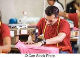 Se requiere personal de Costura Recta