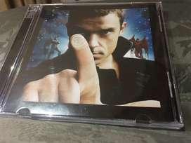 CD+DVD Robbie Williams Intensive Care - como nuevo