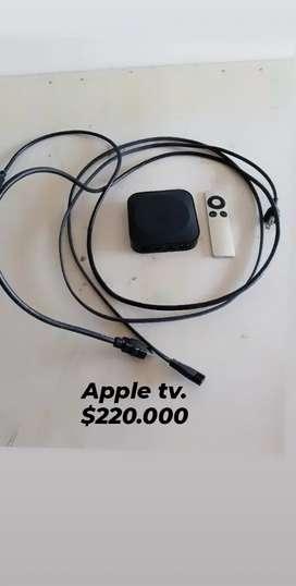 Super oferta Apple tv con todo como nuevo