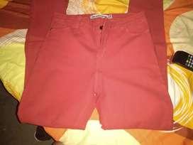 Jin color rojo nuevo elastizado