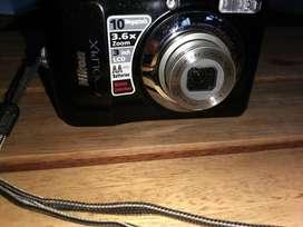 OFERTAZO  liquido Camara Nikon Coolpix L20 Impecable