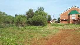 Terreno barrio Andresito.  Zona capilla