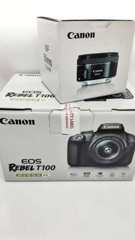 Vendo Camara Canon Rebel T100