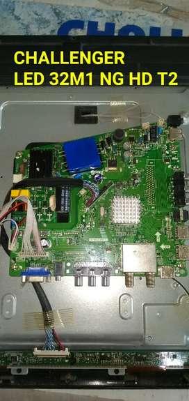 Tarjeta de repuesto Challenger LED 32M1 NG HD T2