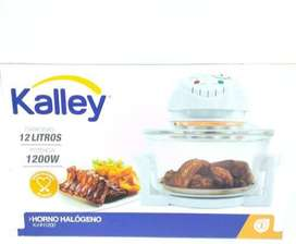 Horno Halógeno Kalley K-hh12p0 12lt 1200w Cocina Salud