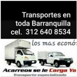 SERVICIOS DE CARGAS ACARREOS VIAJES TRANSPORTE ESPECIALIZADO