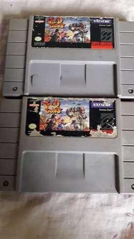 Super Nintendo - Wild guns