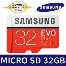 Memoria 32Gb Clase 10 marca SAMSUNG ORIGINAL para celulares