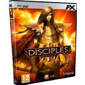 Juego Para Pc Disciples 3 Rennaisance Envio Gratuito