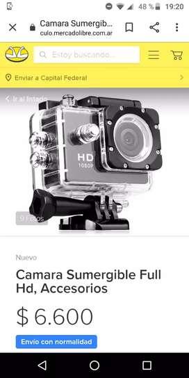 Camara SPORT sumergible