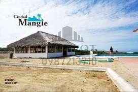 Credito Directo para la Compra de Tu Terrenos frente al mar, Playa Privada, Urb. Ciudad mangle, A 35 Min de Manta, S1