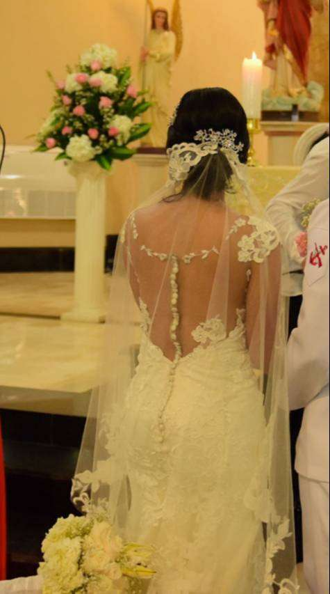 Hermoso vestido de novia- NEGOCIABLE