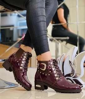 Botas y botines para dama