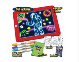Tablero Tablet Magic Para Dibujar Marcadores Infantil