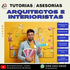 TUTORíAS / ASESORÍAS A ESTUDIANTES O PROFESIONALES DE LA ARQUITECTURA