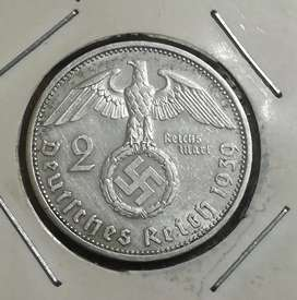 Moneda Alemania de plata