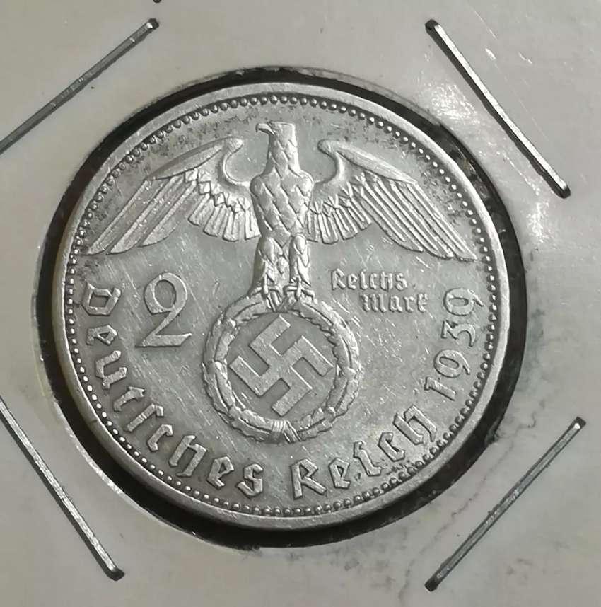 Moneda Alemania de plata 0
